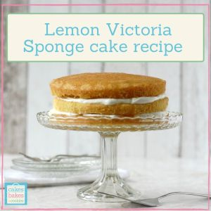 victoria sponge cake