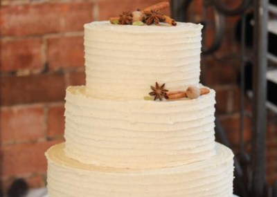 Chai Latte Wedding Cake full