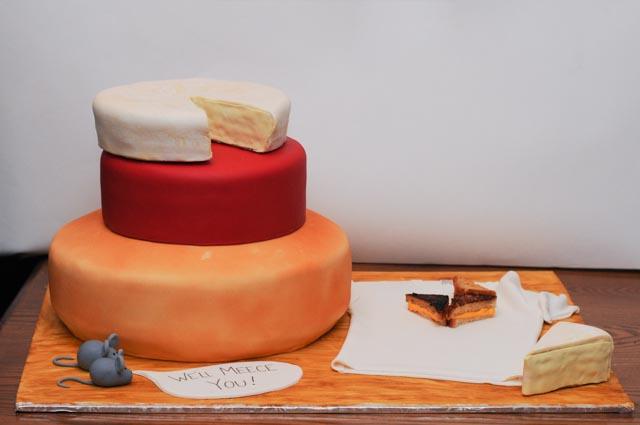 Actual cheese cake