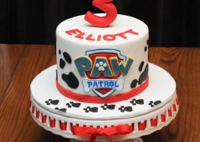 Paw Patrol Marshall Dalmatian Cake