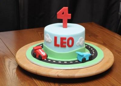 Racecar Cake