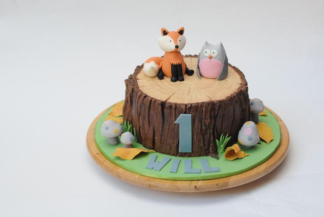 How To Get Fondant Mushrooms To Stick On Cake