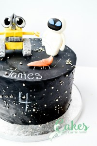 Wall-e 4th birthday cake