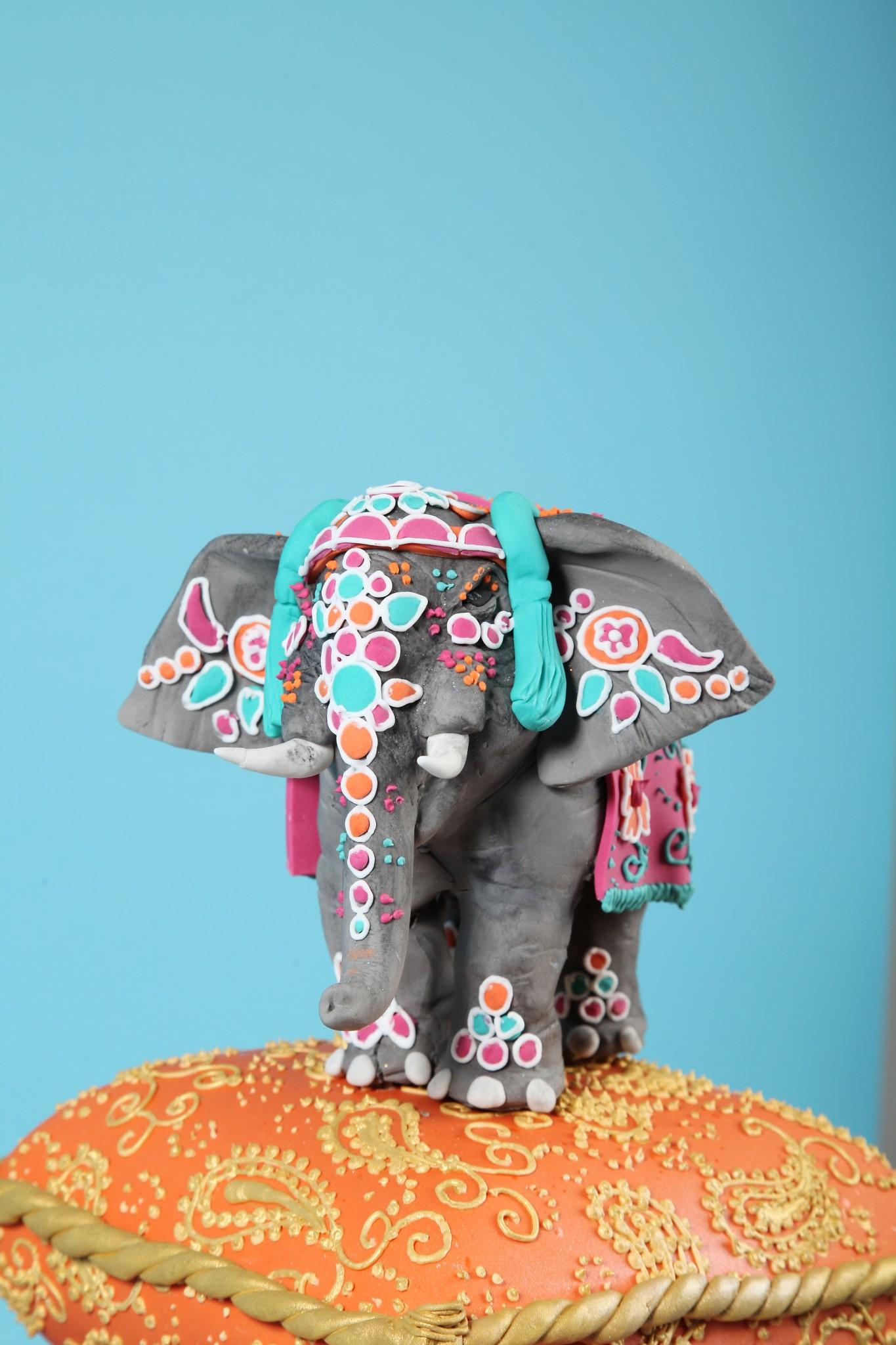 Elephant Wedding Cake Toppers