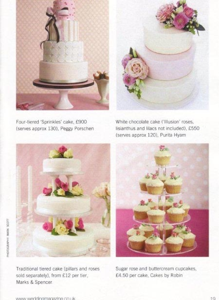 The Ultimate Wedding Cakes Amp Flowers Book Cakes By Robin