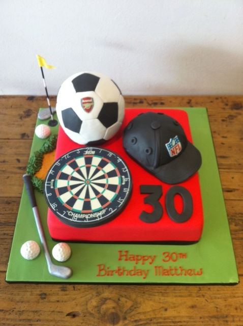 Sports Themed Cakes Cakes By Robin