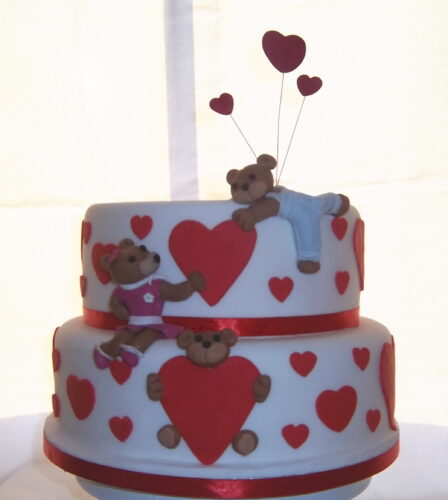 Valentines Day Cakes By Trudi