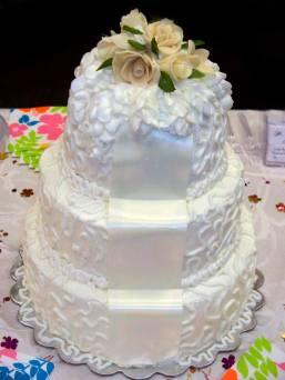 Corneli lace Wedding Cake