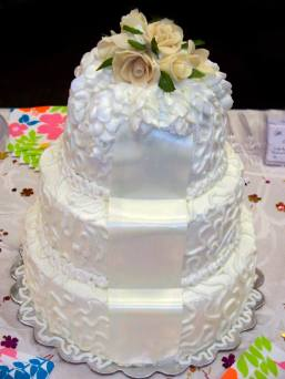 Corneli lace Wedding Cake