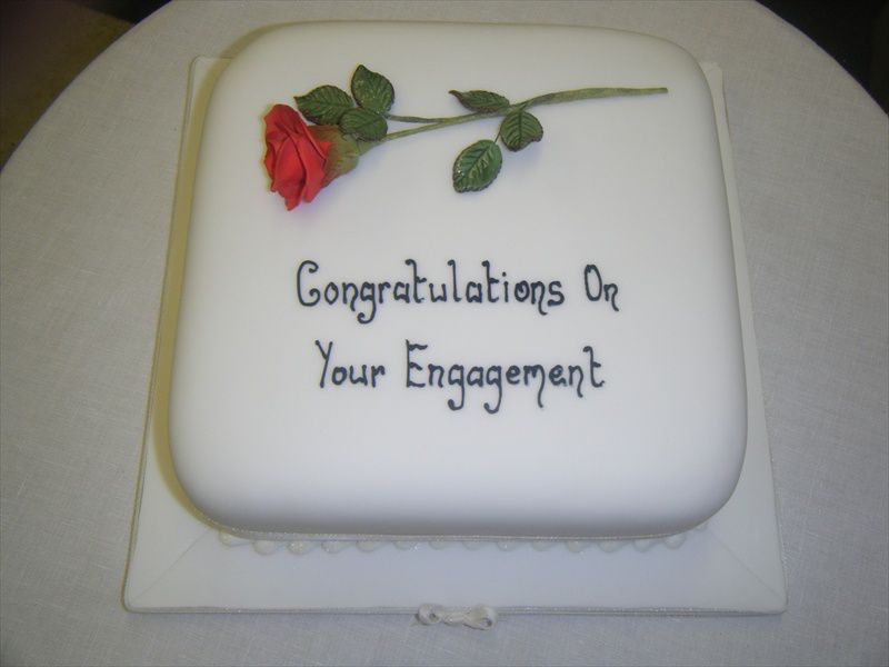 Anniversary Engagement Cakes For Celebrations