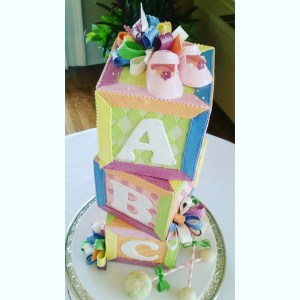 Baby shower cake portland or