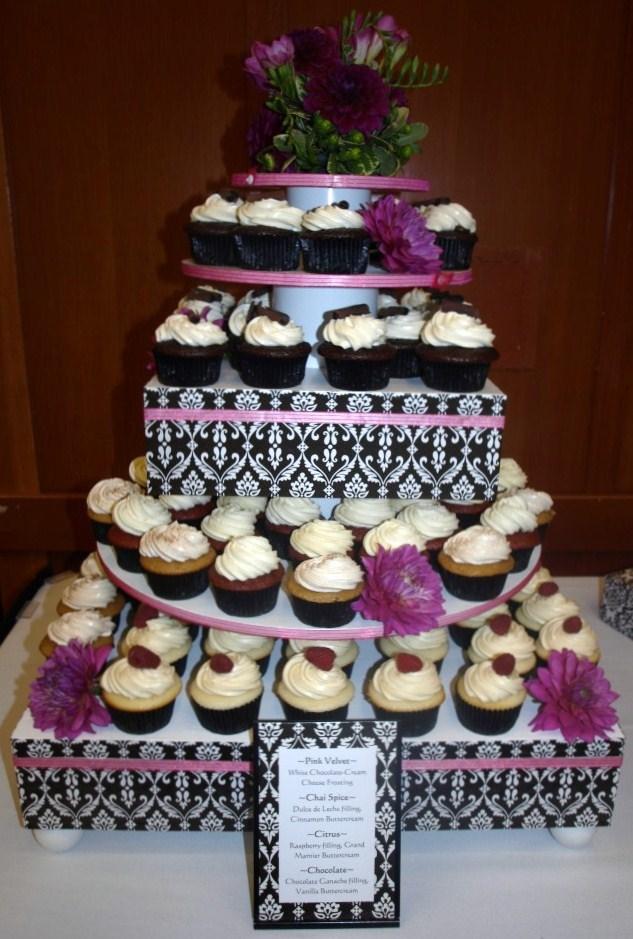 Cupcakes Portfolio Cupcake Stand Tower Rental Portland Or