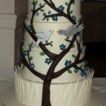 Tree wedding cake, branch wedding cakes, Portland cake bakery