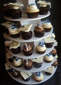graduation cupcakes portland, wilsonville, west linn, tigard, tualatin, cupcake bakery, cupcake delivery portland