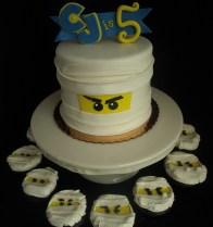 Ninja Cupcakes & Cake