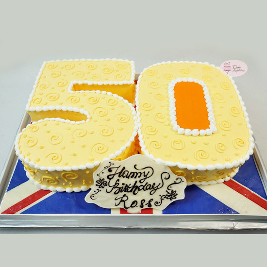 number shape cake delivery chennai