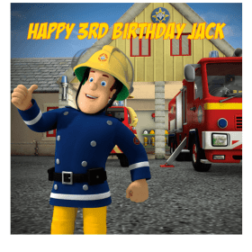 Fireman Sam Edible Cake Topper