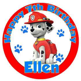 Paw Patrol Edible Cake Toppers Edible Pictures