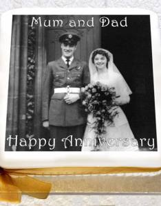 Celebrate  wedding anniversary with photo cake also names list traditional  modern  ideas chart rh caketoppers