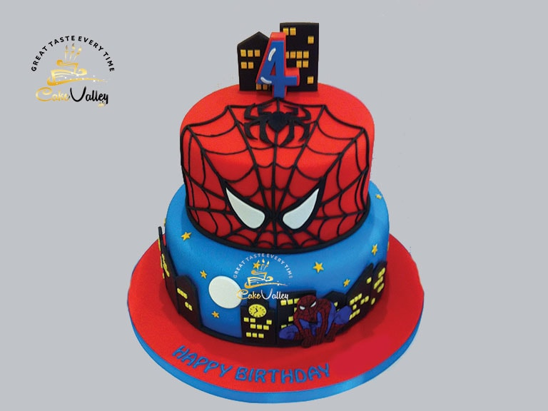 Spiderman Cakes Cartoon Theme Cake Online Cake Order And Delivery