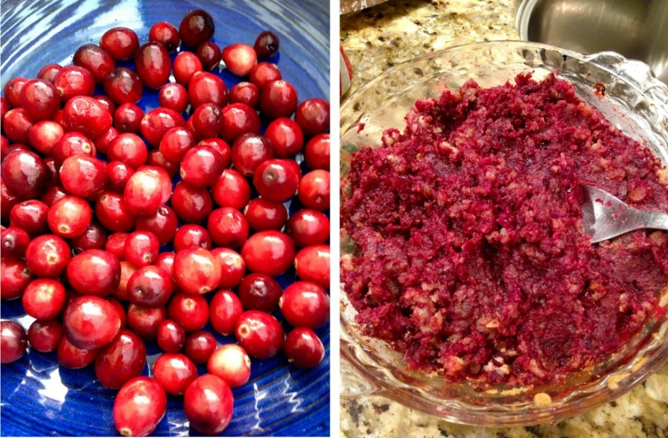 Cranberries and Filling