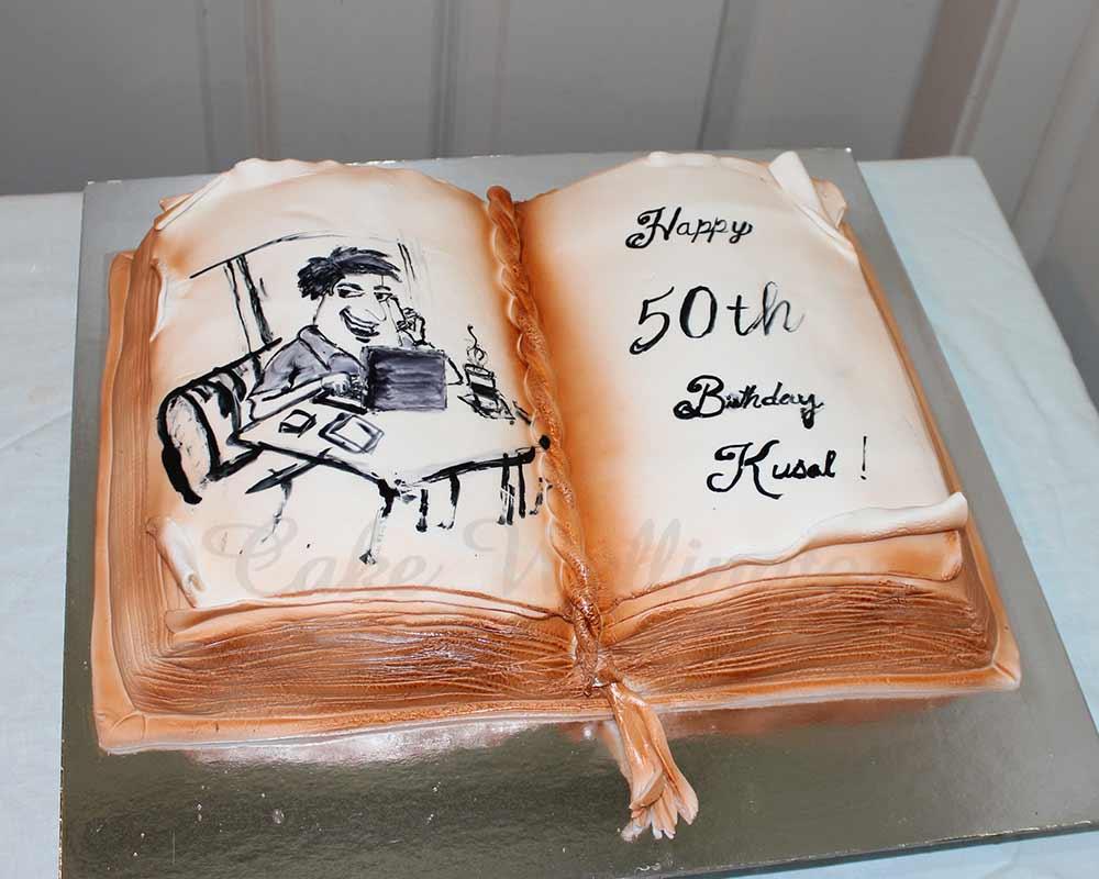 50th Birthday Cake For Men Women Design Ideas From Cake Wellington