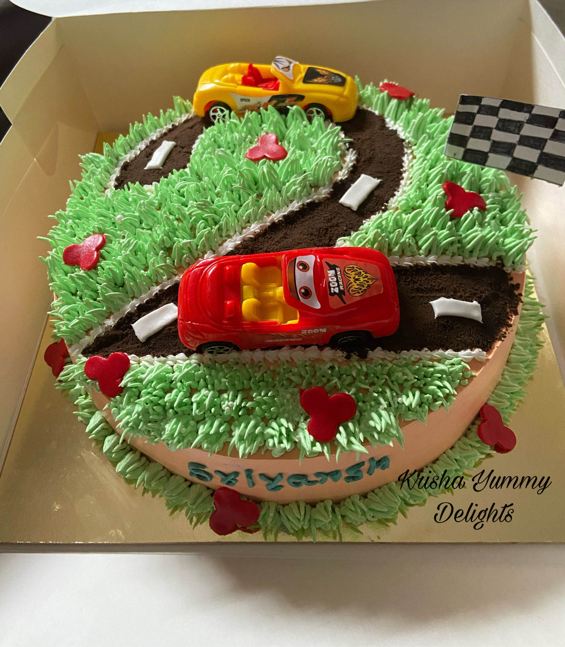 In the modern market, it isn't good enough to simply have one produ. Racing Car Theme Cake In Mumbai All India Delivery Cakexpo