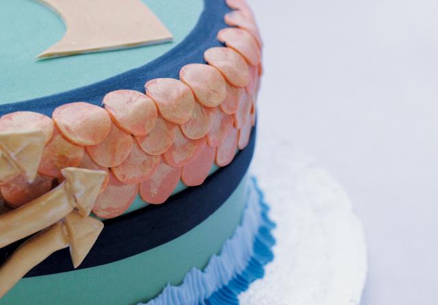 Aqua Man Cake Cakey Goodness