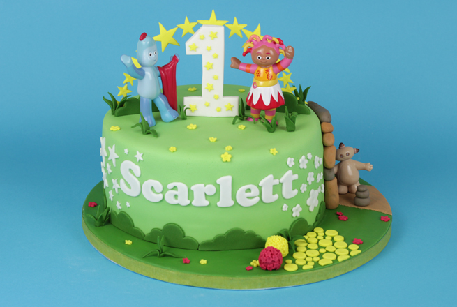 In The Night Garden Birthday Cake Ideas
