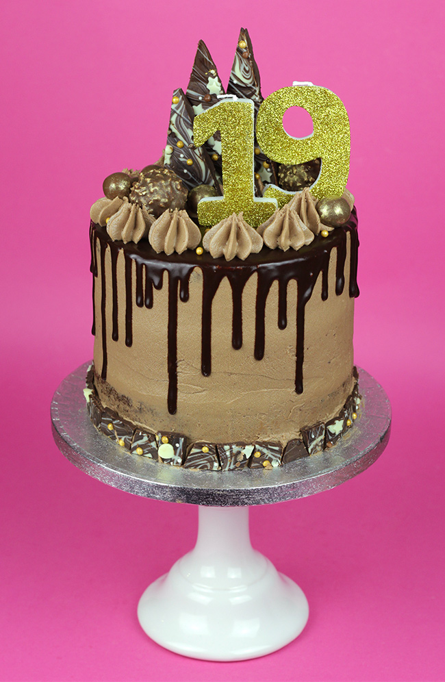 Chocolate Explosion Drip Cake Cakey Goodness
