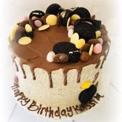 Oreo drippy cake