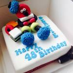 Bertie Bassett Licorice Allsorts Cake