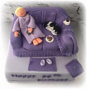Sleeping On The Sofa Cake