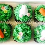 Spring Time Easter Cupcakes