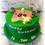 BBQ Picnic Cake