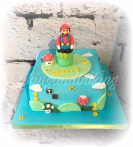 Super Mario Gamer Cake