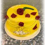 Beauty & The Beast Inspired Cake