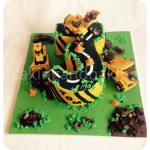Digger Construction Cake