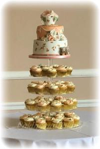 teacup cupcake tower