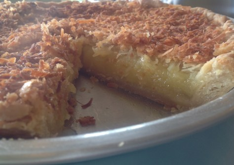 French Coconut Pie blog