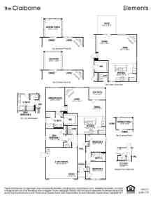 Claiborne Floor Plan Calabash Lakes Real Estate