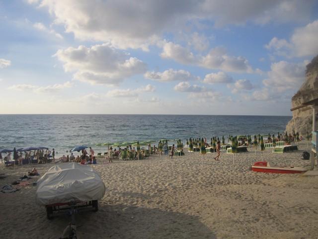 spiaggia Tropea a linguata