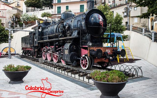 locomotiva a vapore di bova