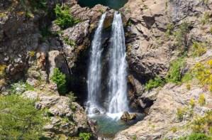 Cascate del Maesano salto