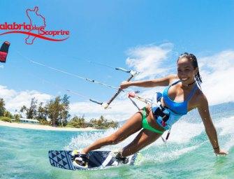 Kitesurf in Calabria 2018: a Gizzeria Lido sfida tra onde e vento