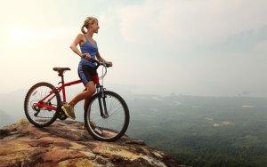 calabria in bici ragazza