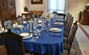 sala da pranzo castello corigliano