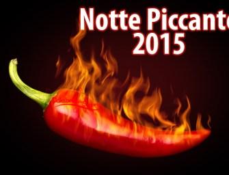 Appuntamento in rosso a Catanzaro con la notte piccante 2015