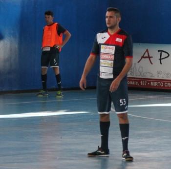 Diego Pratticò del Futsal Polistena