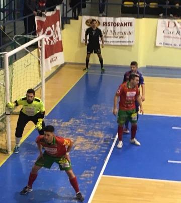 Il Futsal Polistena a difesa della propria porta